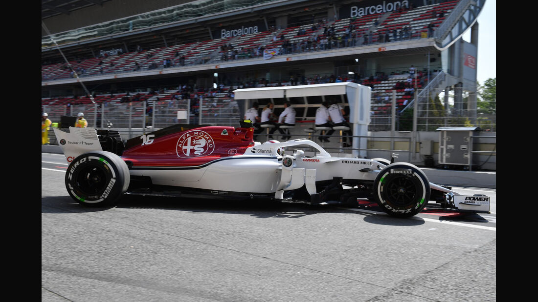 Charles Leclerc - Sauber - Formel 1 - GP Spanien - Barcelona - 11. Mai 2018