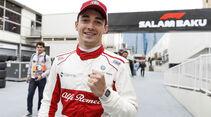 Charles Leclerc - Sauber - GP Aserbaidschan 2018