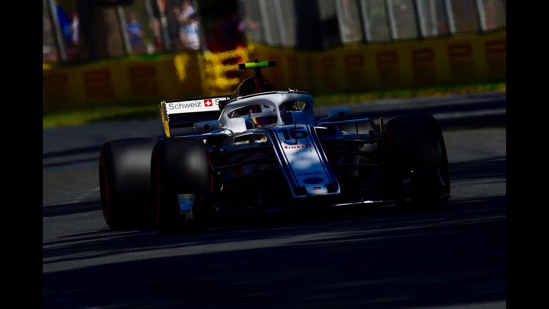 Charles Leclerc - Sauber - GP Australien 2018 - Melbourne - Albert Park - Freitag - 23.3.2018