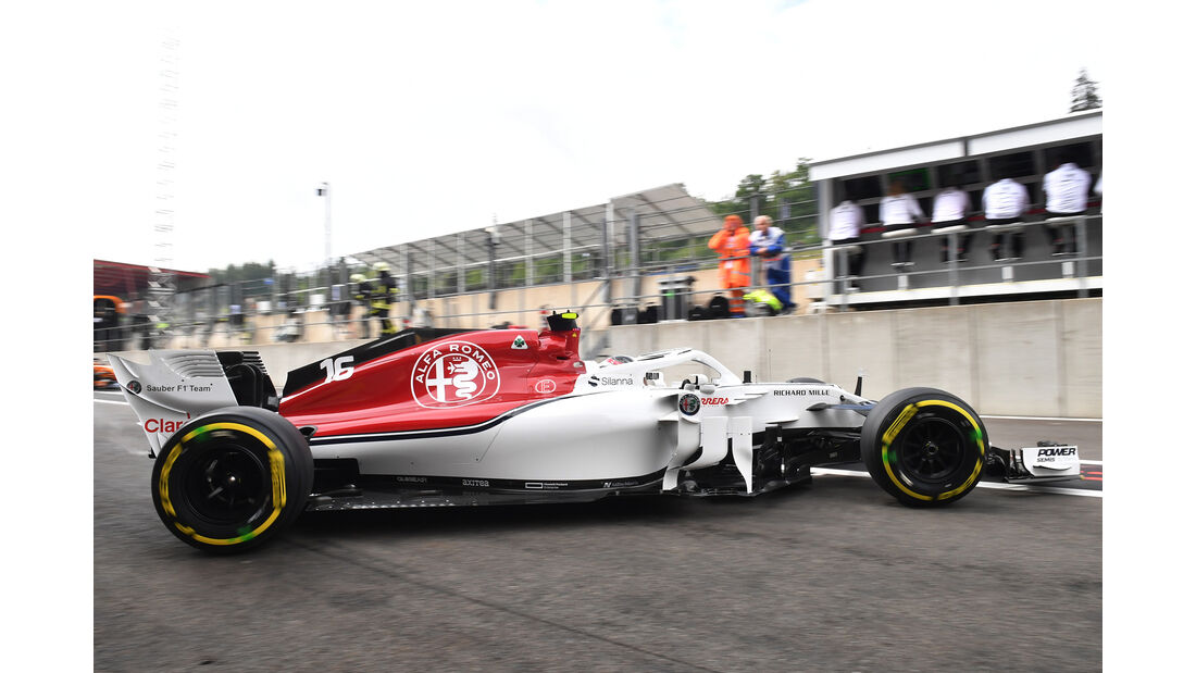 Charles Leclerc - Sauber - GP Belgien - Spa-Francorchamps - 24. August 2018