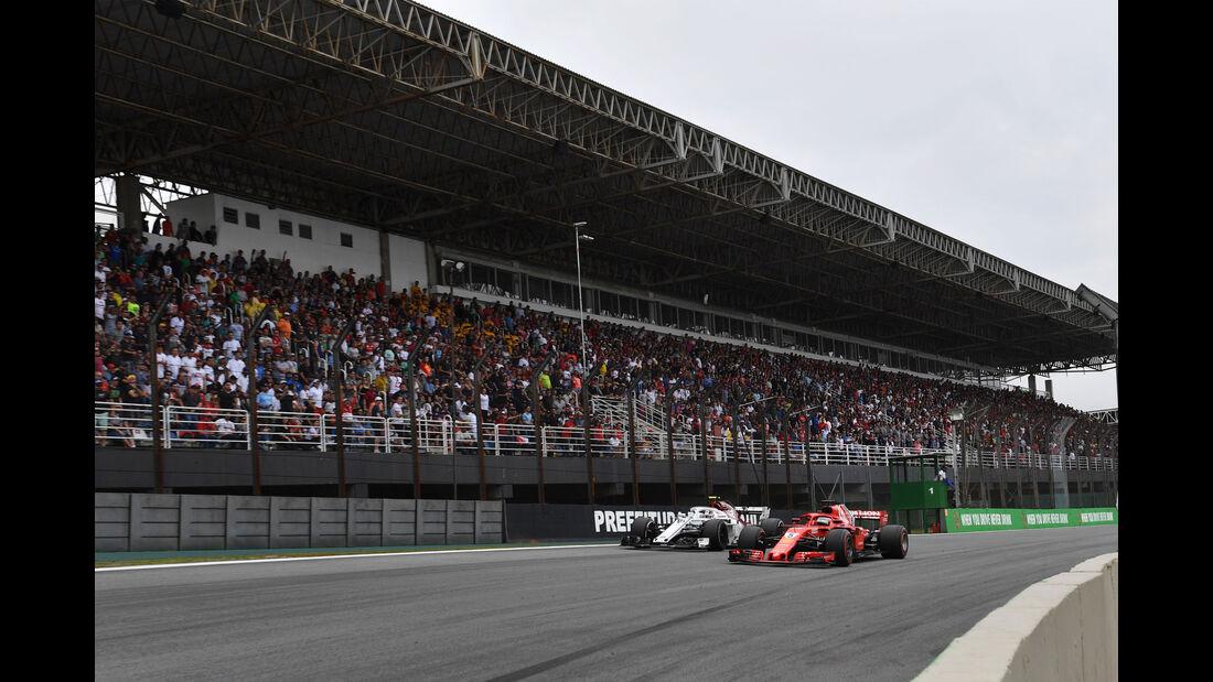 Charles Leclerc - Sauber - GP Brasilien 2018 - Rennen