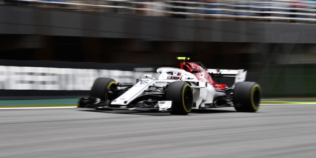 Charles Leclerc - Sauber - GP Brasilien 2018 - Trainingsfreitag