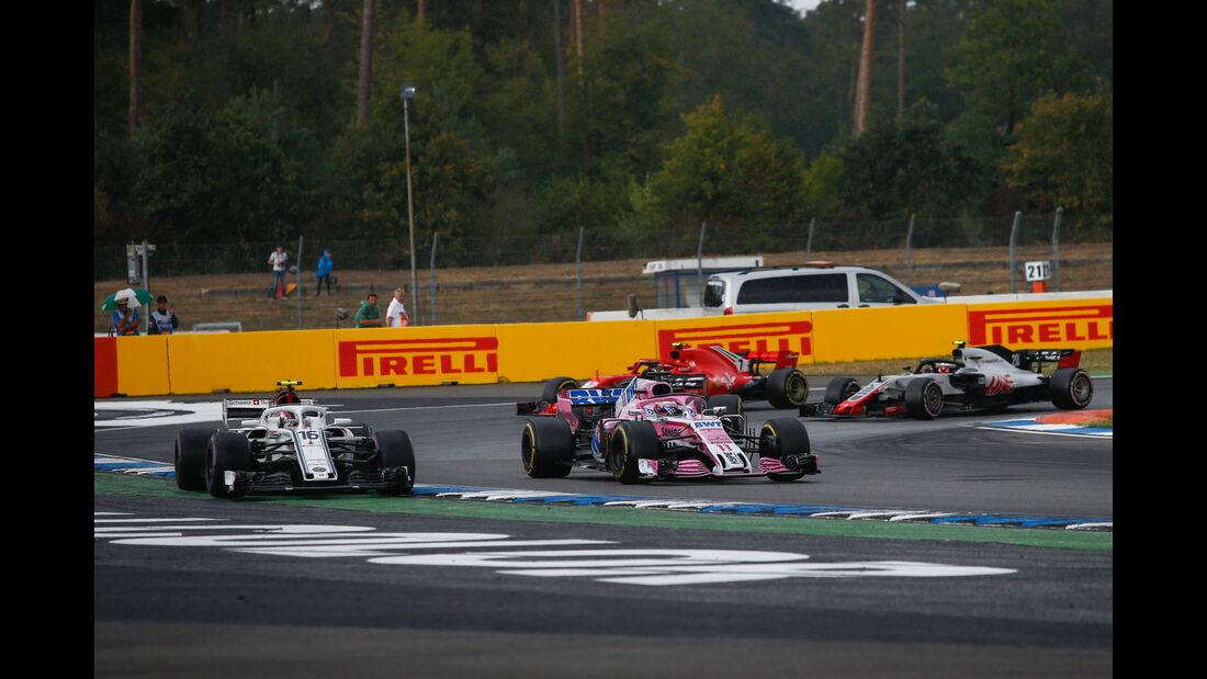 Charles Leclerc - Sauber - GP Deutschland 2018 - Rennen