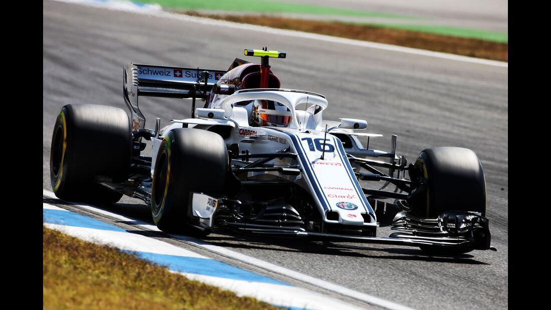 Charles Leclerc - Sauber - GP Deutschland - Hockenheim - Formel 1 - Freitag - 20.7.2018