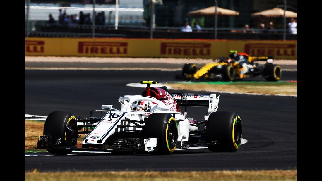 Charles Leclerc - Sauber - GP England - Silverstone - Formel 1 - Freitag - 6.7.2018