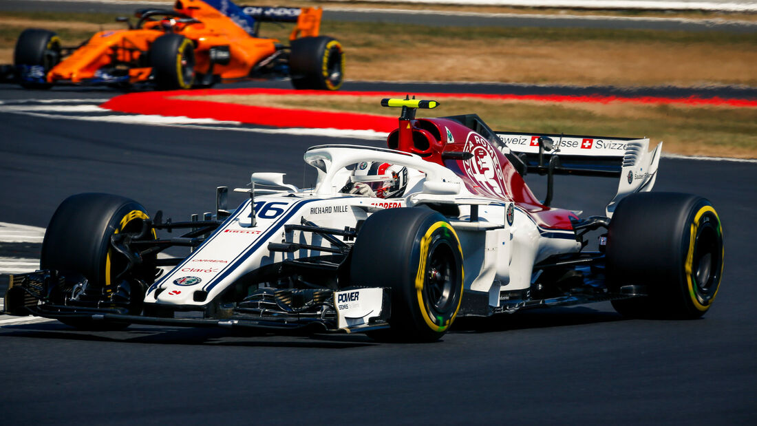 Charles Leclerc - Sauber - GP England - Silverstone - Samstag - 7.7.2018