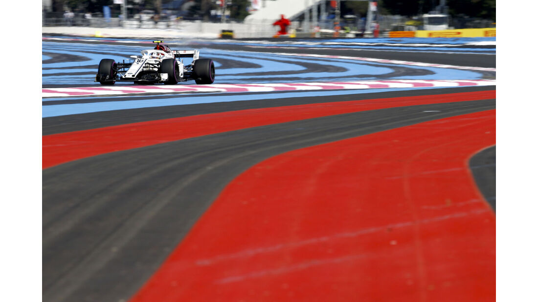 Charles Leclerc - Sauber - GP Frankreich 2018