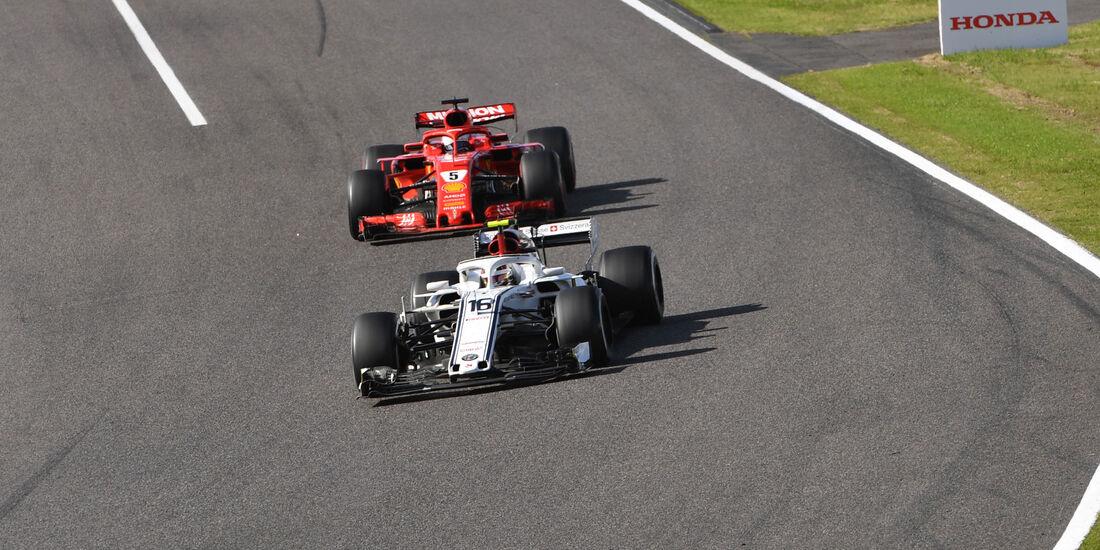 Charles Leclerc - Sauber - GP Japan 2018 - Suzuka - Rennen