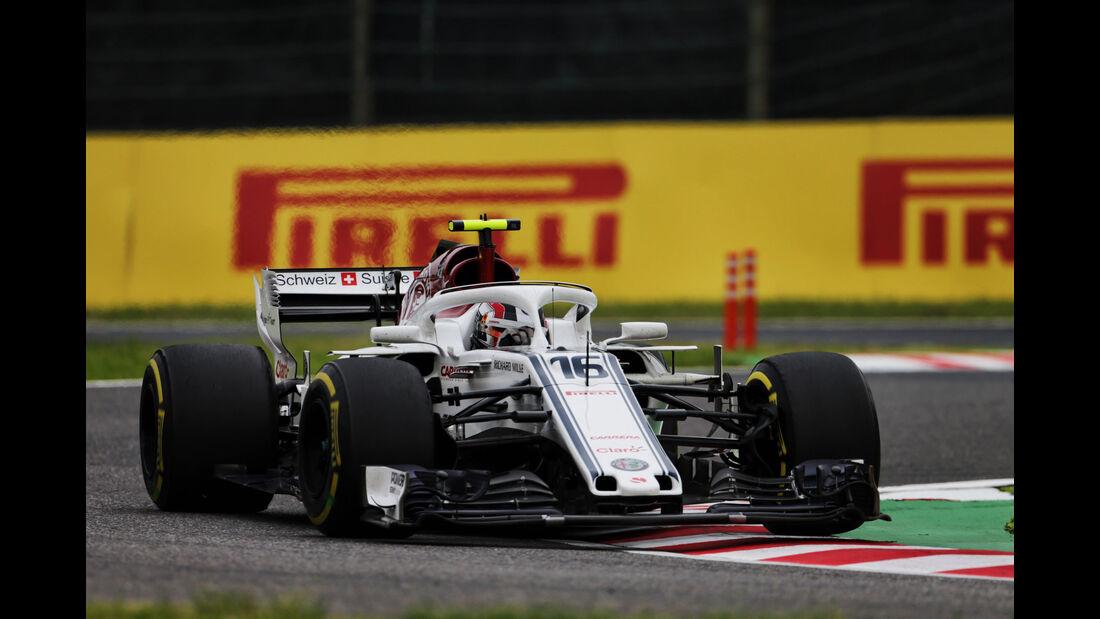 Charles Leclerc - Sauber - GP Japan - Suzuka - Formel 1 - Freitag - 5.10.2018