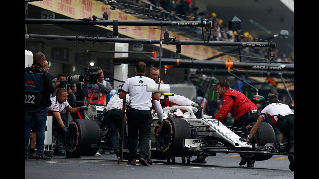 Charles Leclerc - Sauber - GP Mexiko 2018