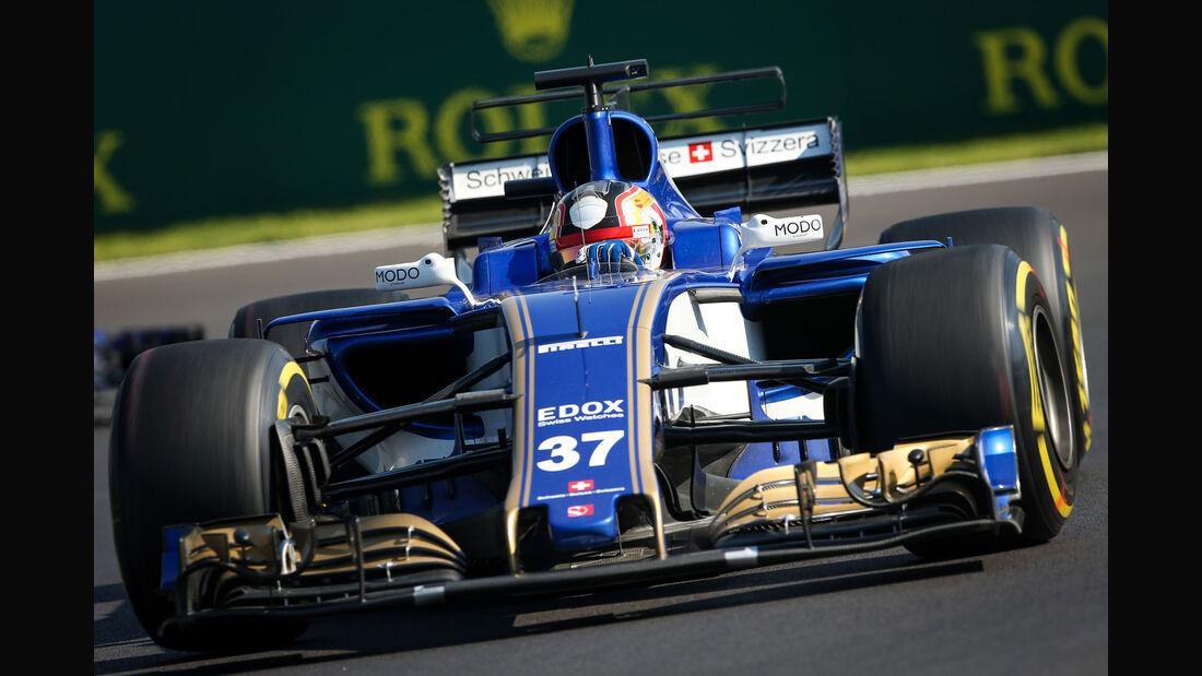 Charles Leclerc - Sauber - GP Mexiko - Formel 1 - Freitag - 27.10.2017