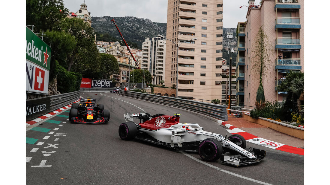 Charles Leclerc - Sauber - GP Monaco 2018 - Rennen
