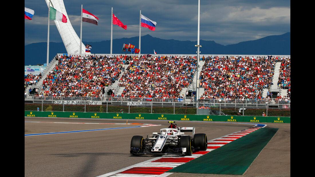 Charles Leclerc - Sauber - GP Russland 2018