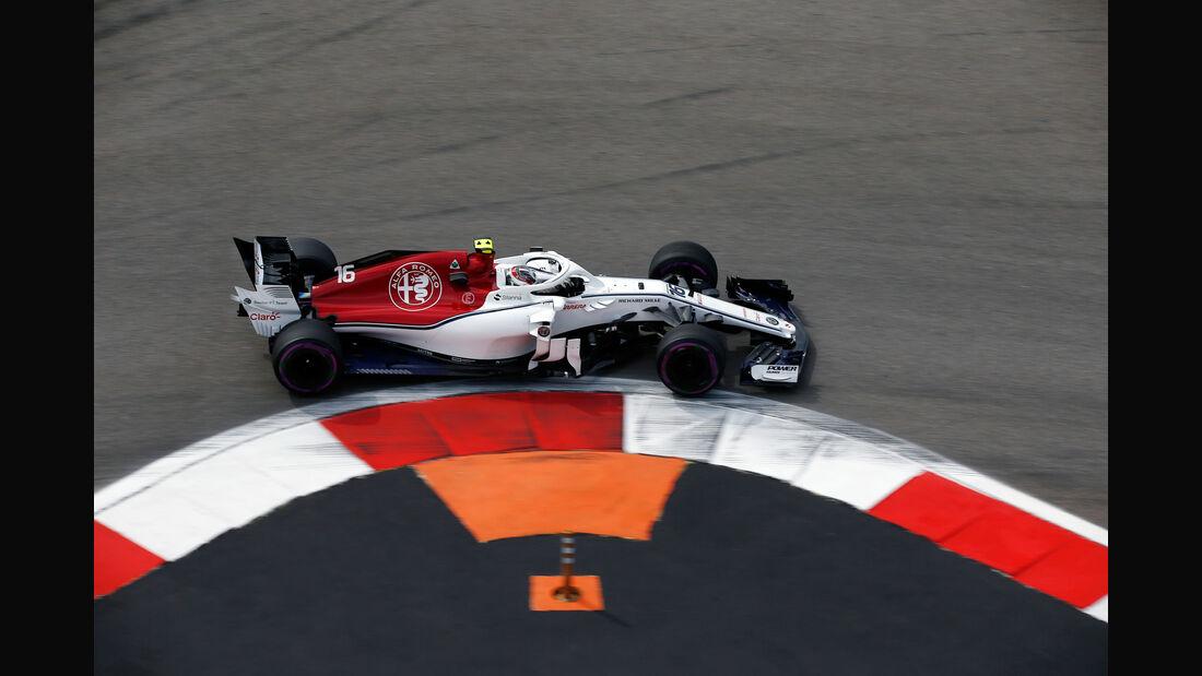 Charles Leclerc - Sauber - GP Russland - Sotschi - Formel 1 - Freitag - 28.9.2018