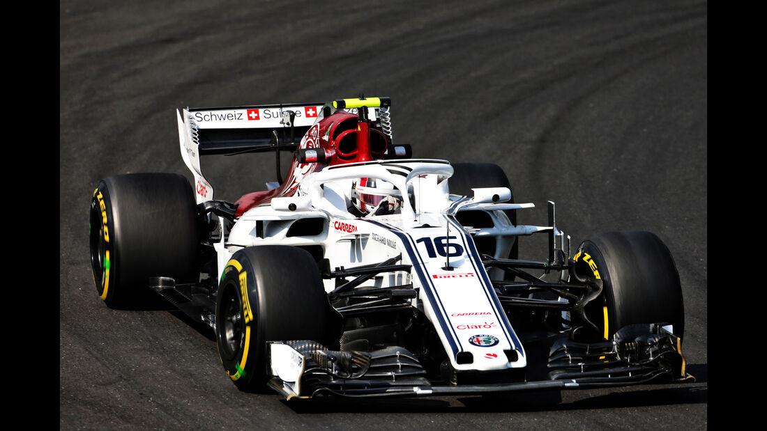 Charles Leclerc - Sauber - GP Ungarn - Budapest - Formel 1 - Freitag - 27.7.2018