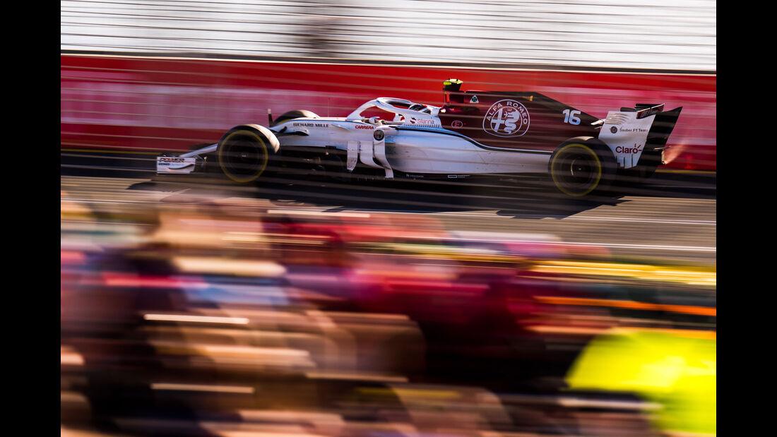 Charles Leclerc - Sauber - Qualifying - GP Australien 2018 - Melbourne