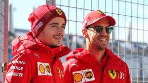 Charles Leclerc & Sebastian Vettel - Ferrari - F1 - 2019