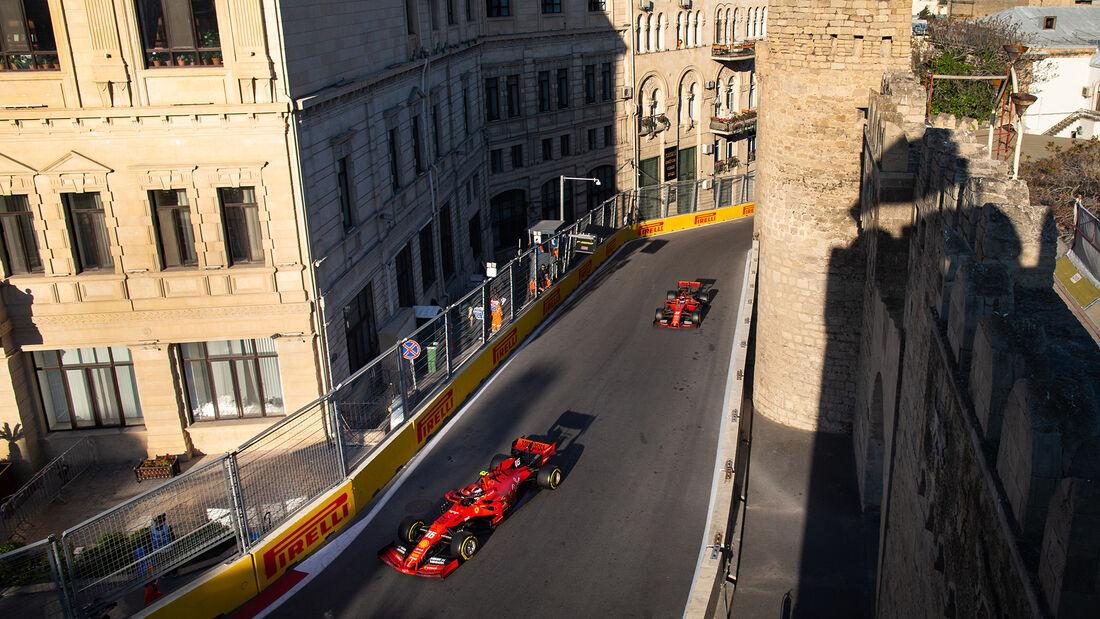 Charles Leclerc - Sebastian Vettel - Ferrari - GP Bahrain  2019