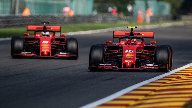 Charles Leclerc & Sebastian Vettel - GP Belgien 2019