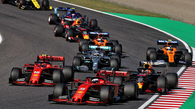 Charles Leclerc & Sebastian Vettel - GP Japan 2019