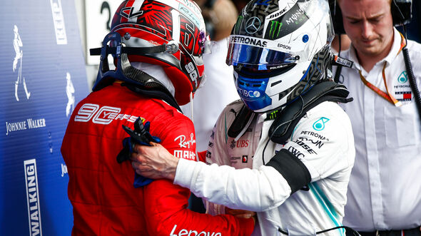 Charles Leclerc & Valtteri Bottas - GP Belgien 2019