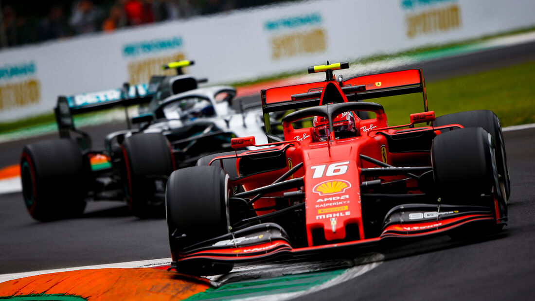 Charles Leclerc & Valtteri Bottas - GP Italien 2019