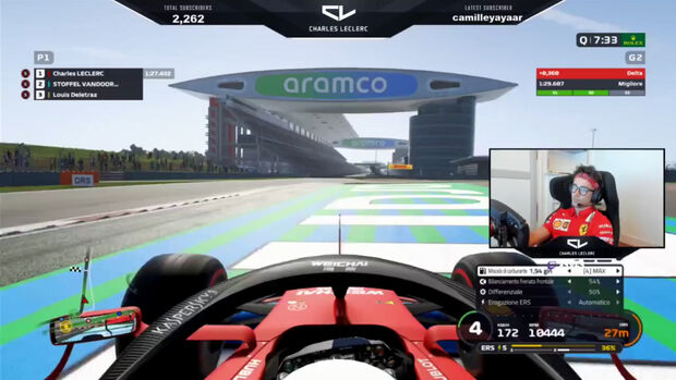 Charles Leclerc - Virtueller Grand Prix China 2020