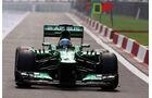 Charles Pic - Caterham  - Formel 1 - GP Indien - 25. Oktober 2013