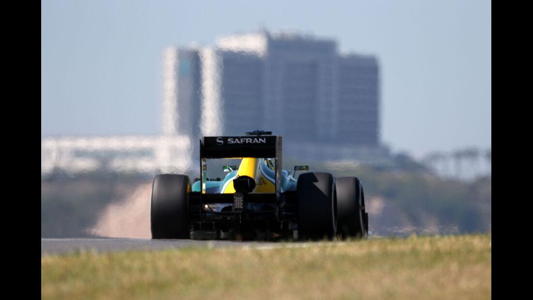Charles Pic - Caterham - Formel 1 - GP Korea - 4. Oktober 2013
