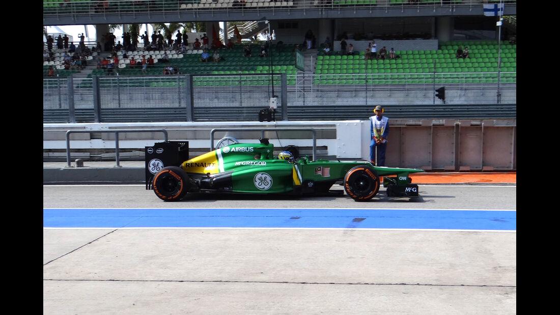 Charles Pic - Caterham - Formel 1 - GP Malaysia - 22. März 2013