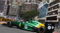 Charles Pic - Caterham - Formel 1 - GP Monaco - 23. Mai 2013