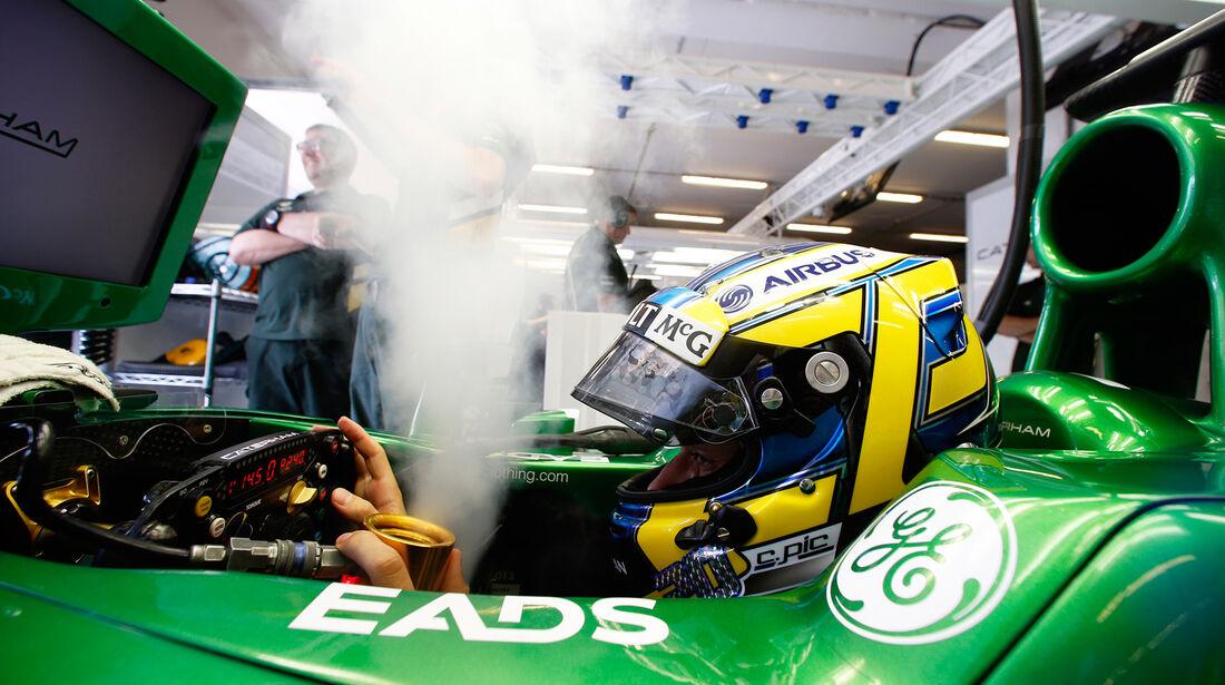 Charles Pic - Caterham - Formel 1 - GP Ungarn 2013