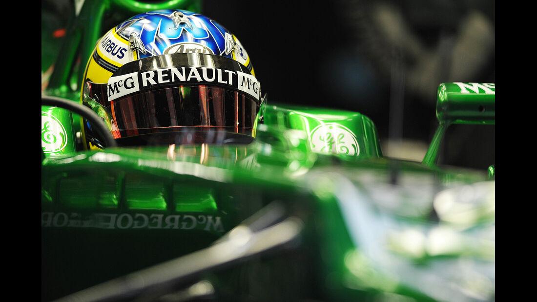 Charles Pic, Caterham, Formel 1-Test, Barcelona, 19.2.2013