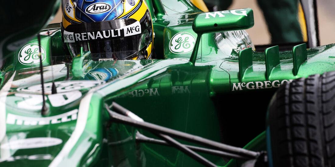 Charles Pic, Caterham, Formel 1-Test, Barcelona, 28. Februar 2013