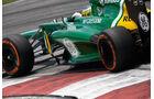 Charles Pic Caterham GP Malaysia 2013