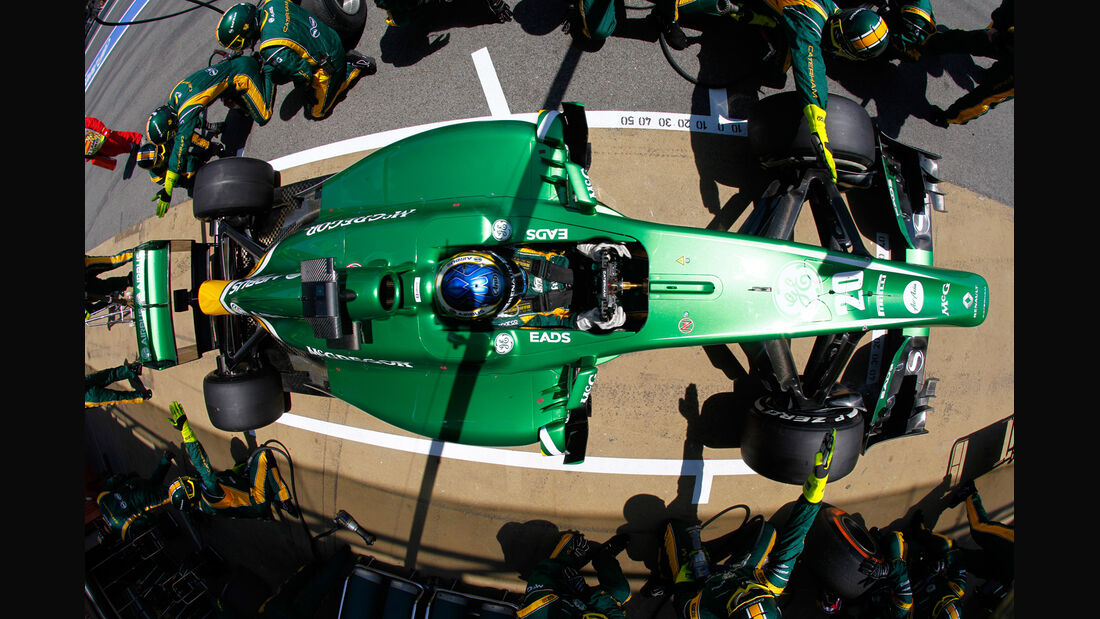 Charles Pic - Caterham - GP Spanien 2013