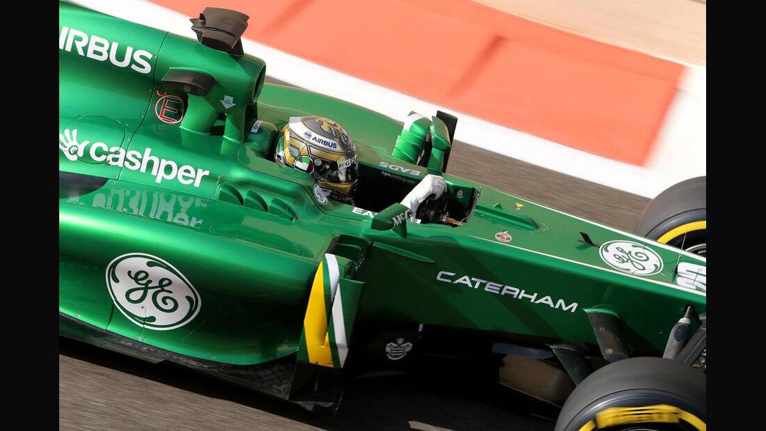 Charles Pic - Formel 1 - GP Abu Dhabi - 02. November 2013