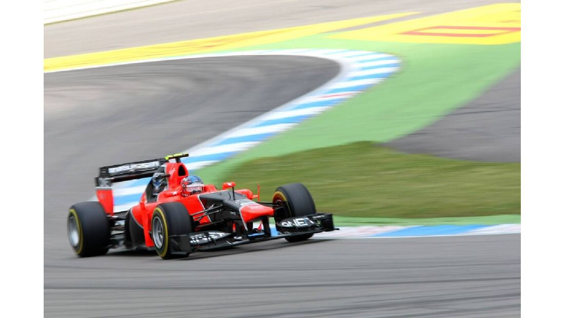 Charles Pic - Formel 1 - GP Deutschland - 21. Juli 2012