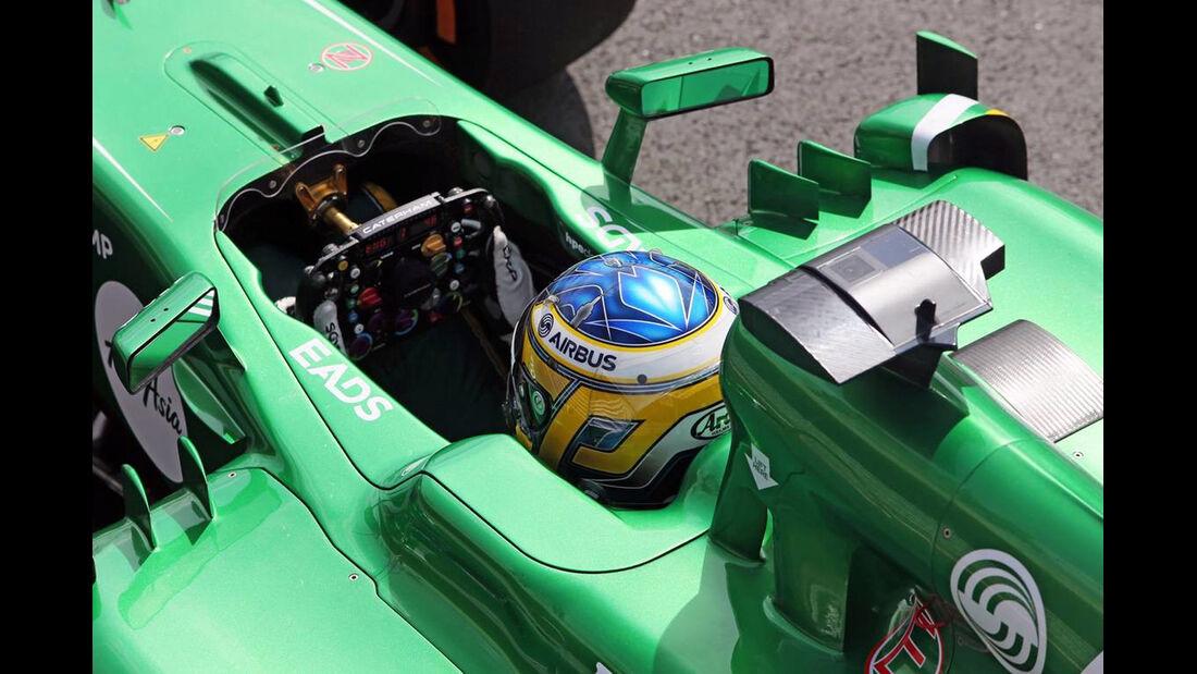 Charles Pic - Formel 1 - GP England - 29. Juni 2013