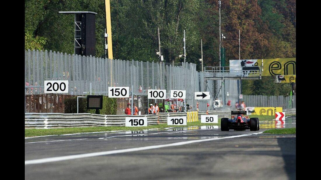 Charles Pic - Formel 1 - GP Italien - 7. September 2012