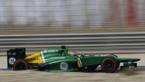 Charles Pic GP Bahrain 2013