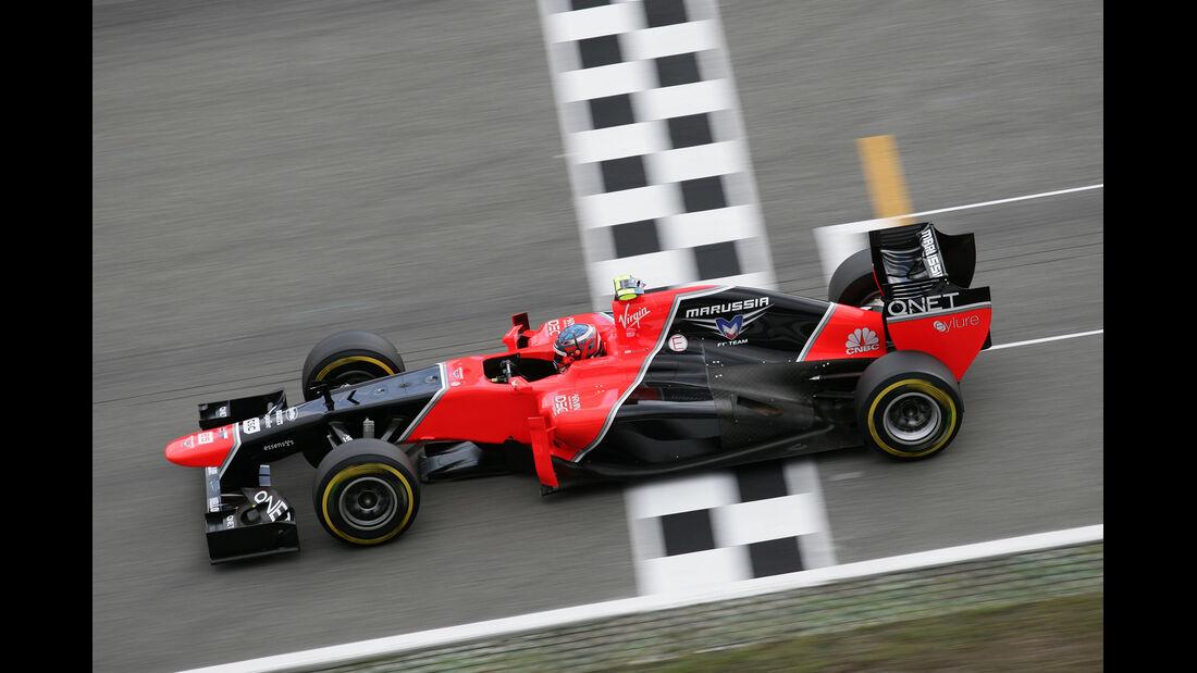 Charles Pic GP Deutschland 2012