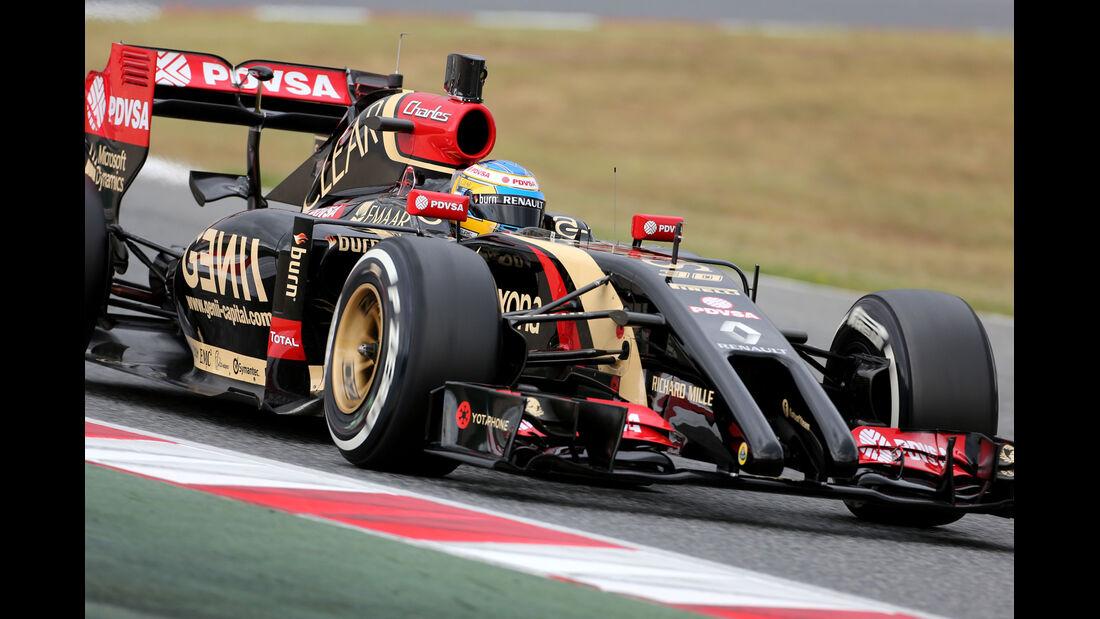 Charles Pic - Lotus - F1 Test Barcelona (1) - 13. Mai 2014