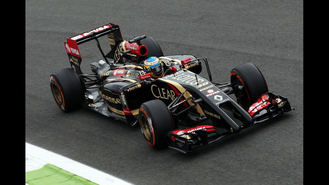 Charles Pic - Lotus - Formel 1 - GP Italien - 5. September 2014