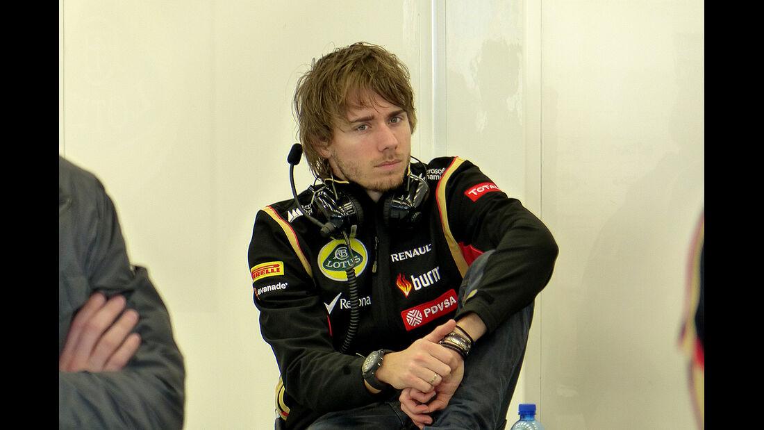 Charles Pic - Lotus - Formel 1 - Test - Bahrain - 21. Februar 2014