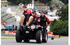 Charles Pic - Marussia - Formel 1 - GP Belgien - Spa - 30.8.2012