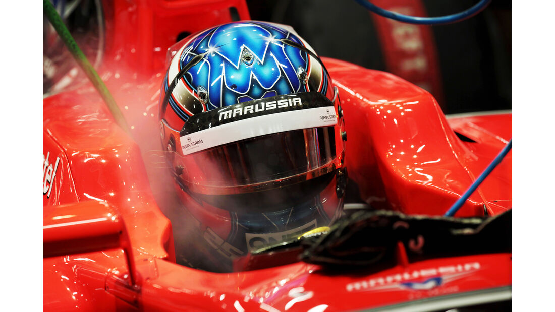 Charles Pic - Marussia - Formel 1 - GP Singapur - 22. September 2012