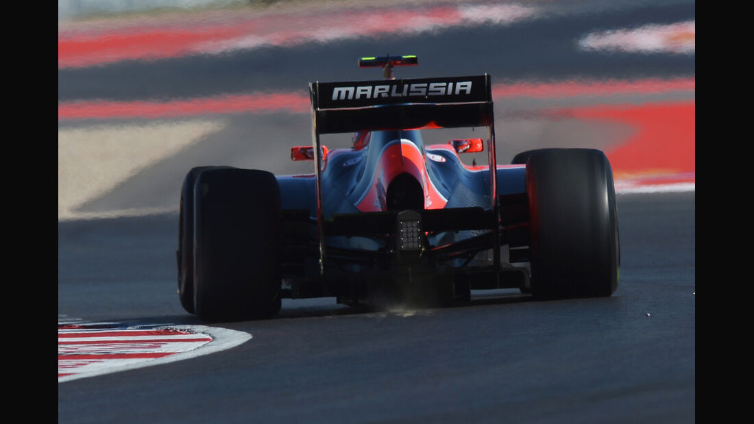 Charles Pic - Marussia - Formel 1 - GP USA - Austin - 16. November 2012