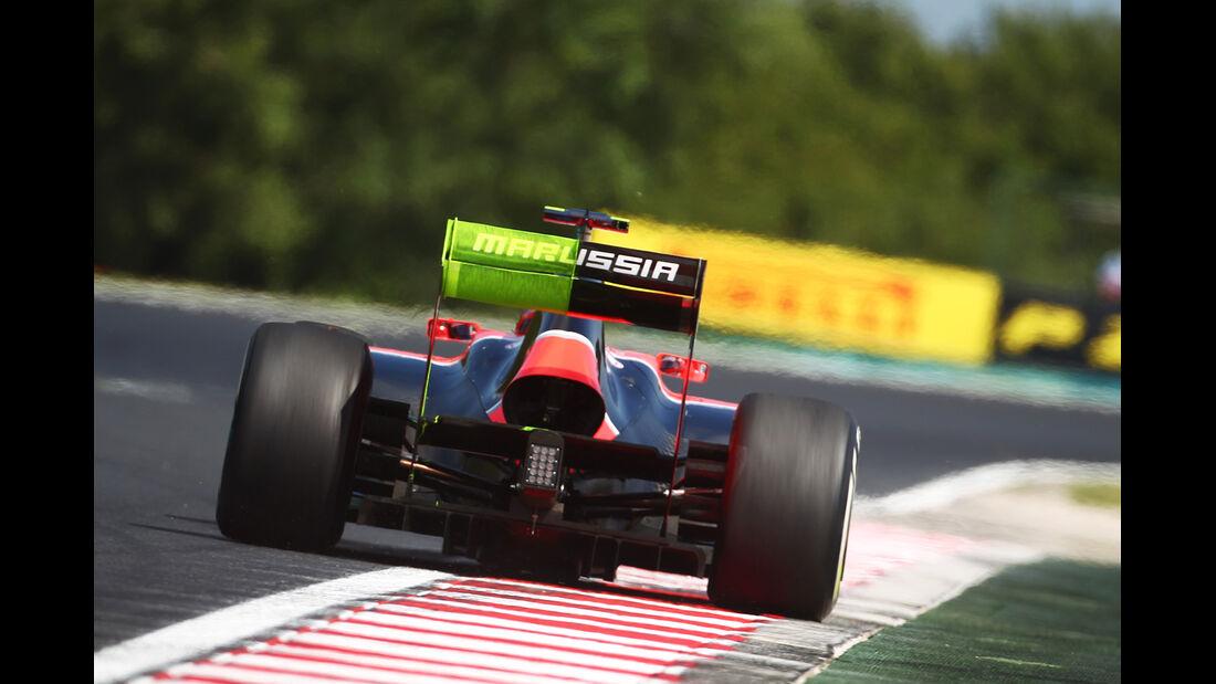 Charles Pic - Marussia - Formel 1 - GP Ungarn - Budapest - 27. Juli 2012