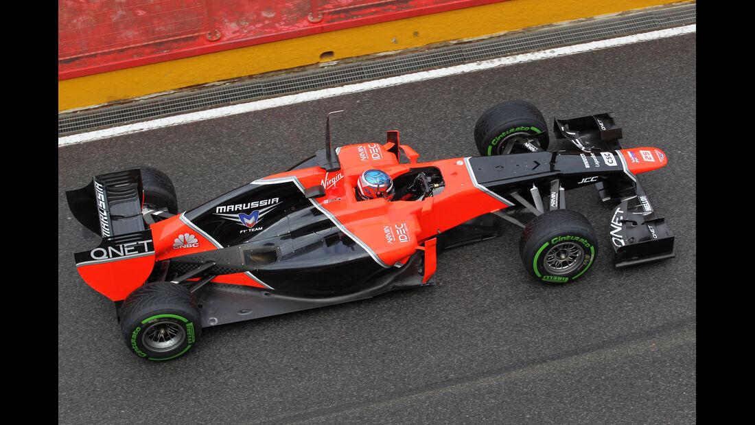 Charles Pic - Marussia - Formel 1-Test - Mugello - 1. Mai 2012